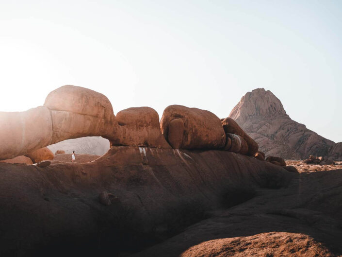 Spitzkoppe rocks in Namibia.